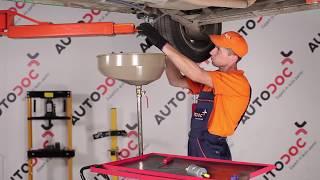 Sostituzione Filtro combustibile OPEL CORSA: manuale tecnico d'officina