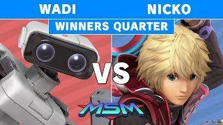 MSM 176 - Wadi (R.O.B.) vs FAD | Nicko (Shulk) Winners Quarters - Smash Ultimate