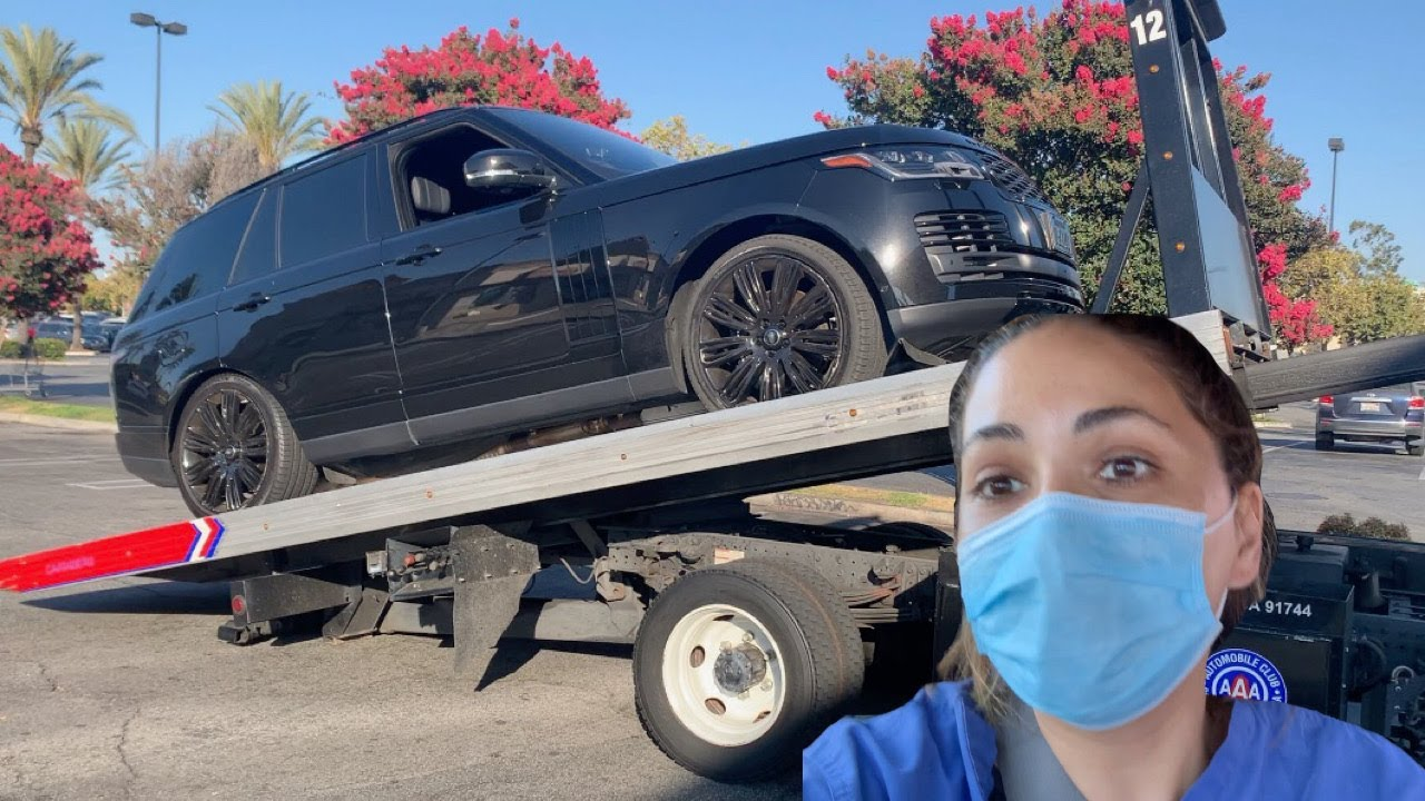 my range rover broke down on the freeway