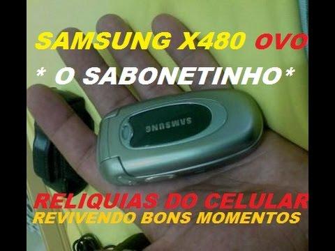 SAMSUNG X480 O SABONETINHO OU OVO ANTENA INTERNA RELIQUIAS DO CELULAR 2017