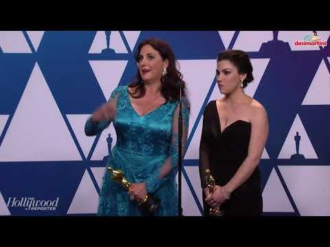 Rayka Zehtabchi and Melissa Berton in the Oscars 2019