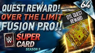 FREE SHATTERED CARD!! QUEST REWARD! SHATTERED FUSION PRO! #WWESUPERCARD S5 #64