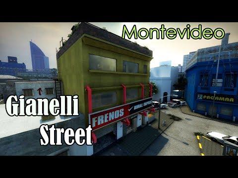 Gianelli Street - Montevideo Uruguay