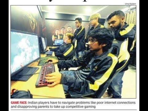 Times Spark Scholarship Article-(Nov 5 )II Meet India's IPL-style e-sportsmen