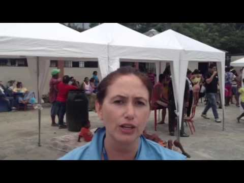 UNHCR Report on Ecuador Earthquake - Aid Delivery