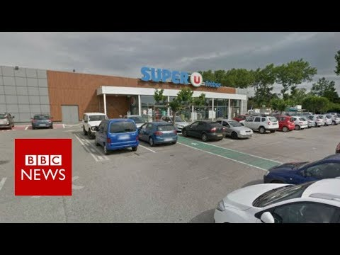 BREAKING NEWS:  Hostage situation at supermarket in Trèbes, France- BBC News