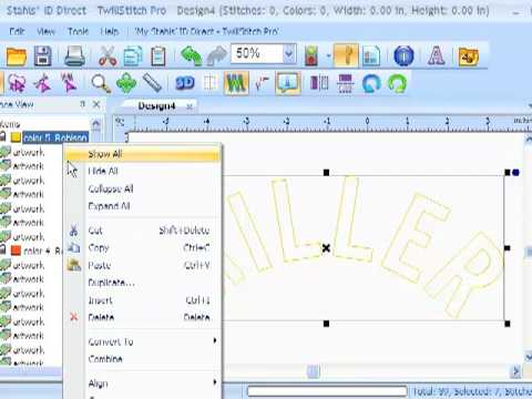 TwillStitch Pro - Player Names Appliqué Sew Files