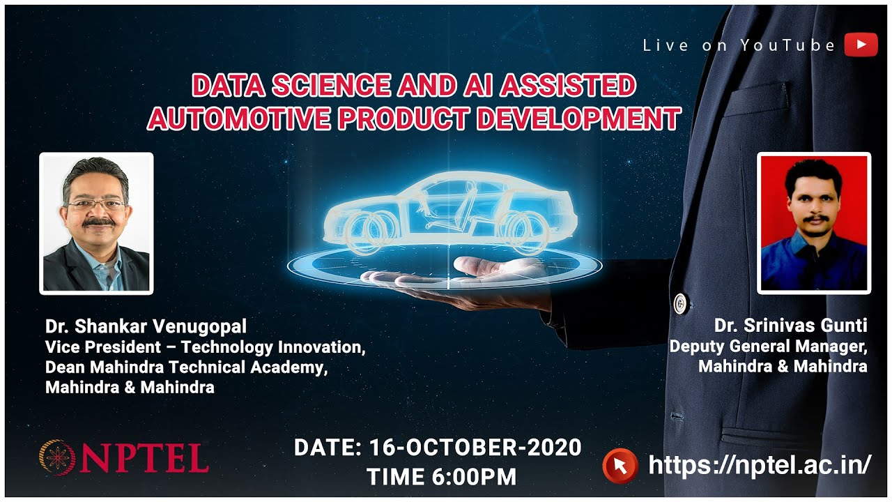 LIVE_Data Science and AI Assisted Automotive Product Development