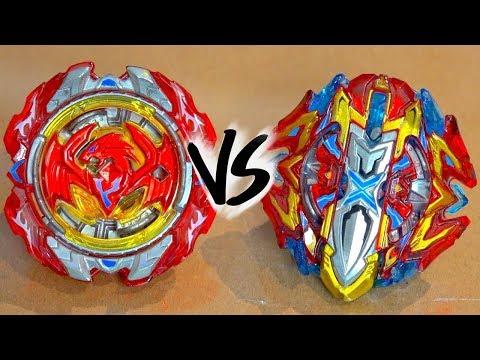 BATTLE: Buster Xcalibur .1'.Sw VS Revive Phoenix .10.Fr - Beyblade Burst Super Z/Cho-Z