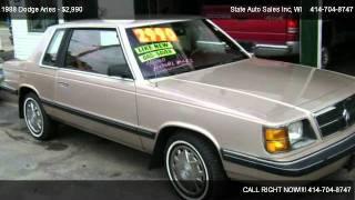 Dodge Aries America @ State Auto Sales Inc
