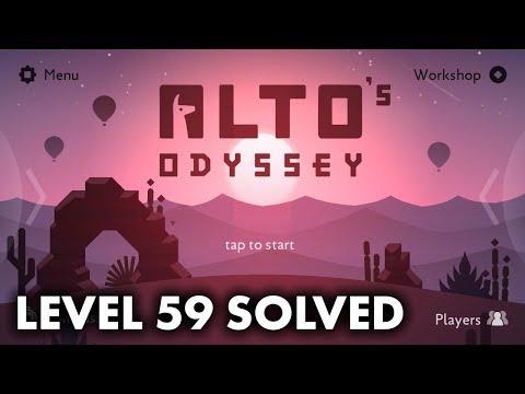 Alto's Odyssey - Level 59 Goals and Walkthrough