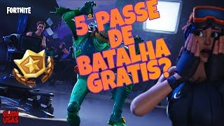 HOW TO GET THE BATTLE PASS 5 FREE! (FORTNITE BATTLE ROYALE)