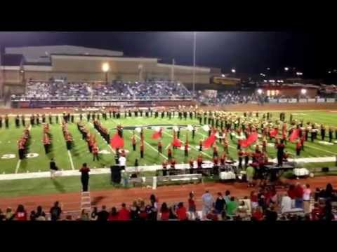 CHS Marching Band Halftime - Hey Song - Sept 4, 2015