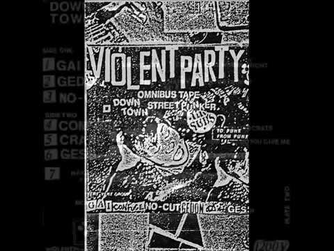 V. A.  Omnibus Downtown Street Punker - Violent Party (cass-1984)