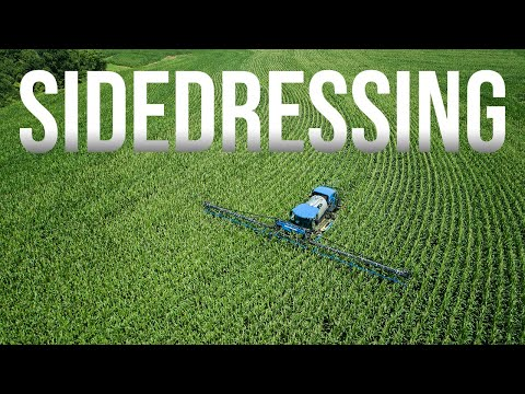Late Season Nitrogen Application | New Holland SP310F