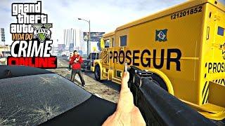 GTA V: Vida do Crime - Roubando carro Forte Fuga da policia #18