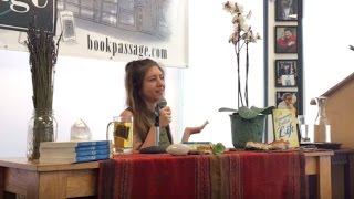 Tehya Sky at Book Passage, Corte Madera, October 2016