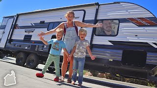 OUR NEW CAMPER TOUR!