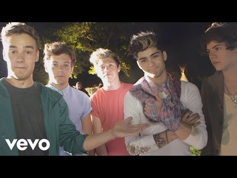 One Direction - Live While We're Young (Behind The Scenes)