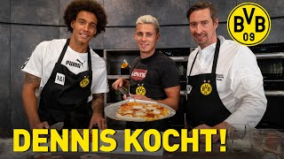 Pizza with Hazard & Witsel | Cooking with Dennis!