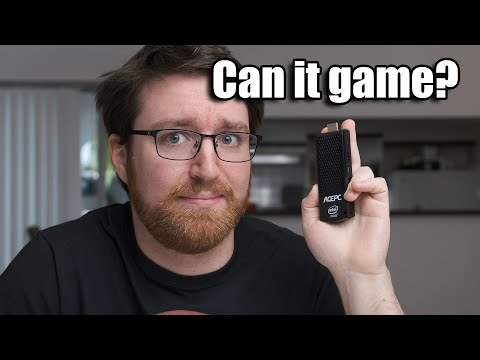 Can You Game On This TINY Pocket PC?