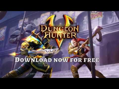 Dungeon Hunter 5 - New Update Trailer - What Makes A Hero?