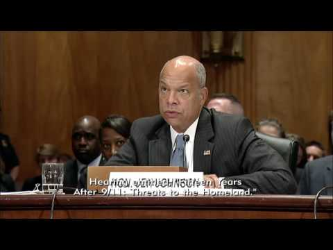Ben Sasse Homeland Security Hearing with FBI and DHS