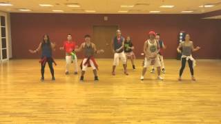 We will rock you|Cumbia Remix| Zumba® choreo by Dubai All StaZ