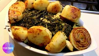 Yalançı Səbzi qovurma Сябзи из курицы Азербайджанская кухня  быстро и вкусно