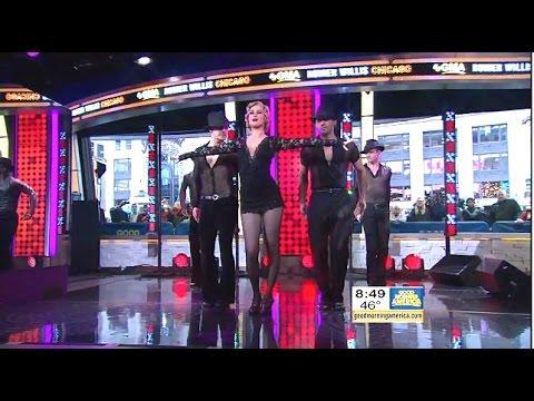 Rumer Willis   & Cast Performs 'Roxie' GMA Live