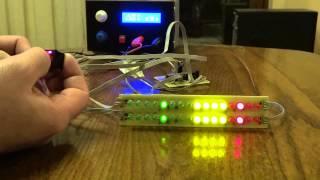 ATmega8 Audio Stereo LED Level Meter