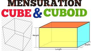3D - CUBE AND CUBOID ( PART - 6 ) || MENSURATION - 3D || DSSSB , SSC , HSSC , RAILWAY , POLICE