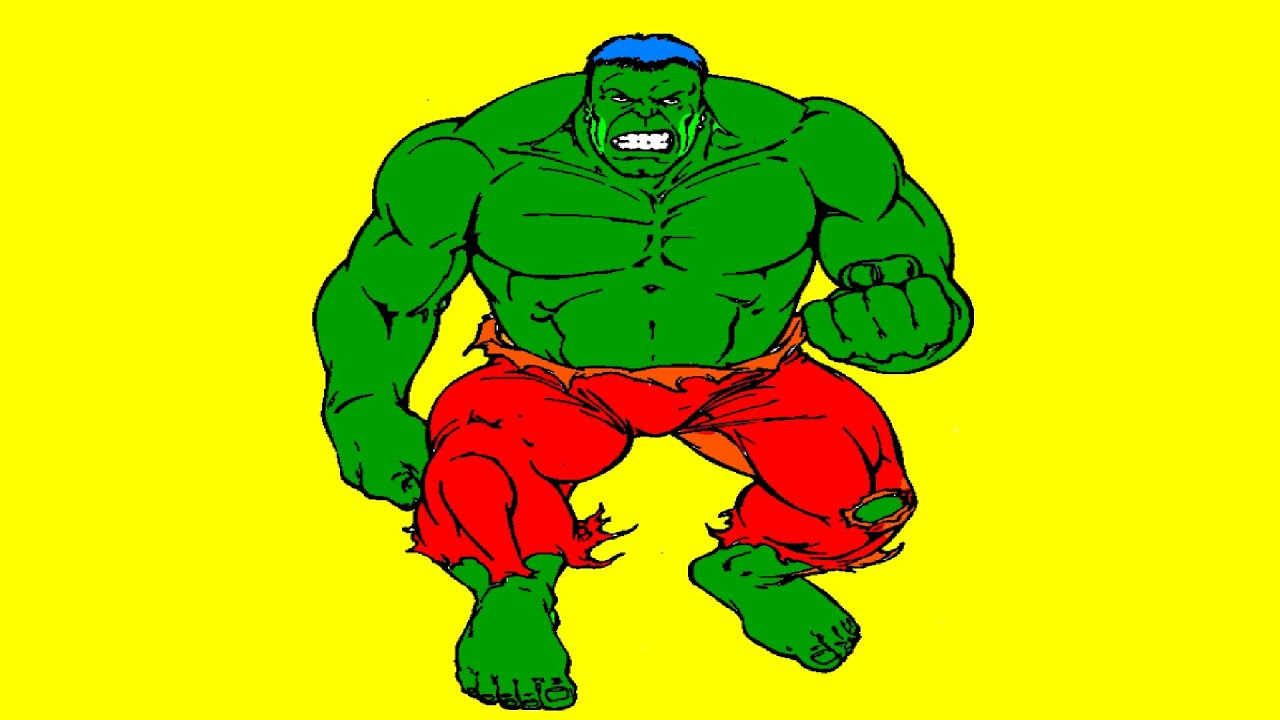 superhero coloring pages green hulk coloring book youtube