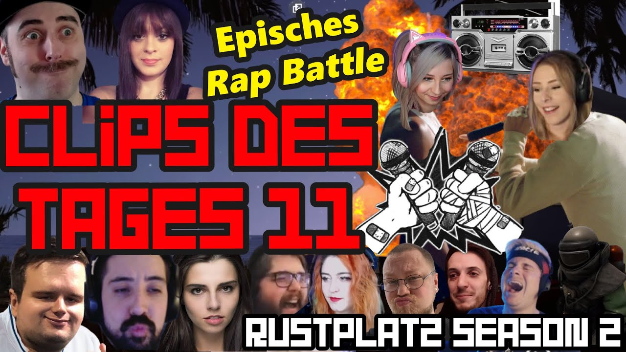 Episches RAP BATTLE endet im absoluten CHAOS | Clips des Tages 11 | Rustplatz Season 2