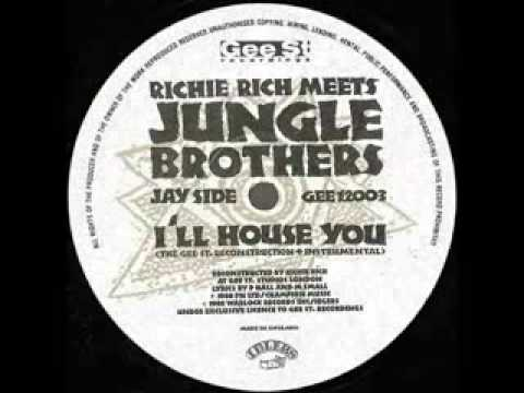 Jungle Brothers - I'll House You (Richie Rich Instrumental)
