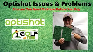 Optishot Issues - 5 issues & problems you need to know before you buy