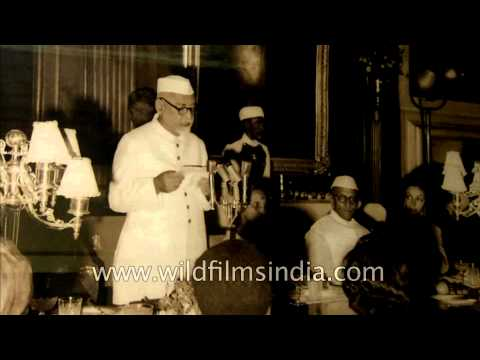 Rare picture of Dr. Zakir Hussain, the 3rd President of India
