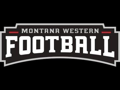 FOOTBALL:  No. 19 Montana Western vs Carroll College
