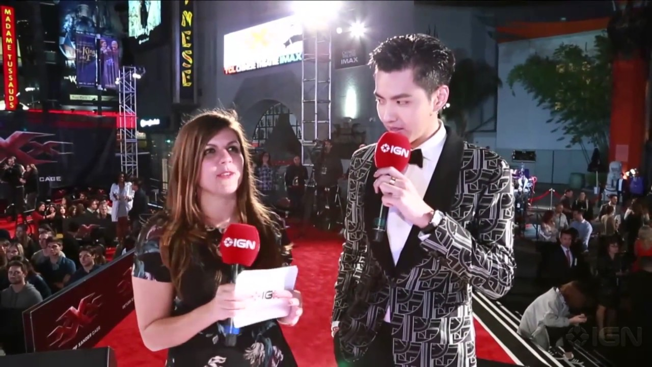 [1080p] Kris Wu Red Carpet Interview at xXx: Return of Xander Cage  Hollywood Premiere