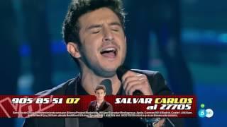 """Carlos Torres: """"No me compares"""" - Semifinal - La Voz 2016"""