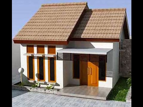Sketchup tutorial how to modeling simple house youtube for Simple home model