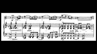 Violin Sonata Opus 18 Andante cantabile composed by Richard Strauss
