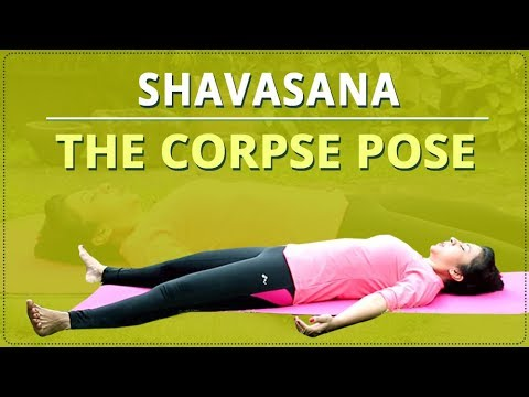 corpse pose  shavasana  simple yoga for beginners  mind