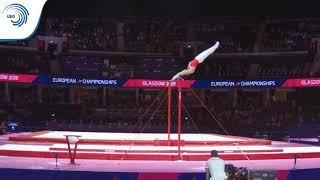 Oliver HEGI (SUI) - 2018 Artistic Gymnastics Europeans, qualification high bar