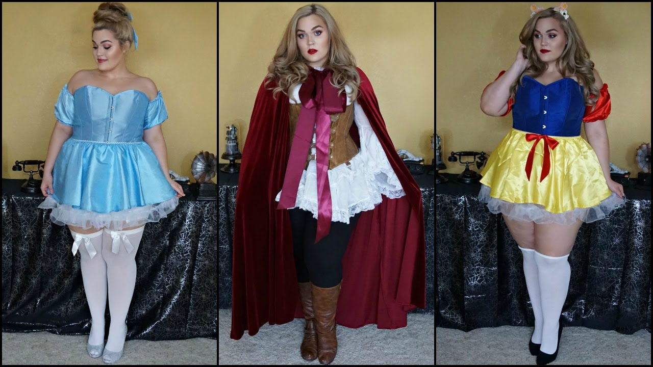 plus size fairytale lookbook | halloween 2015 - youtube