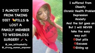 Diet pills (Phintermine ) almost killed me,people who get weightloss surgery are lazy