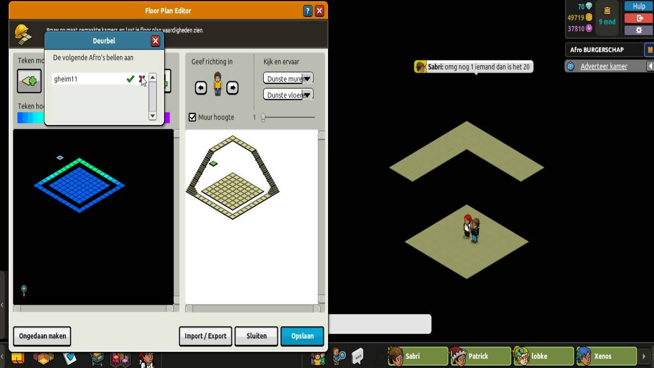 Habbo floor plan editor youtube Edit floor plans online