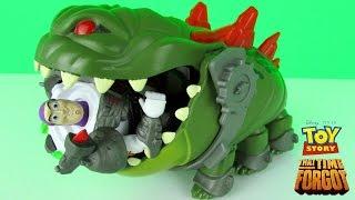 Disney Toy Story That Time Forgot Goliathon Monster Figure Fun Playset Toys With Buzz Lightyear