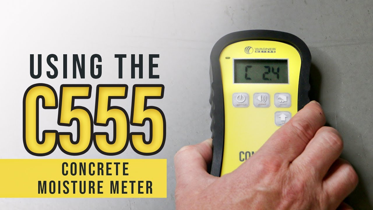 Concrete Moisture Meter How To Use The