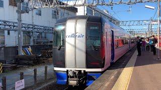 【名鉄2001F2101号車】ミュースカイ三柿野行き 延長運転!三柿野到着シーン